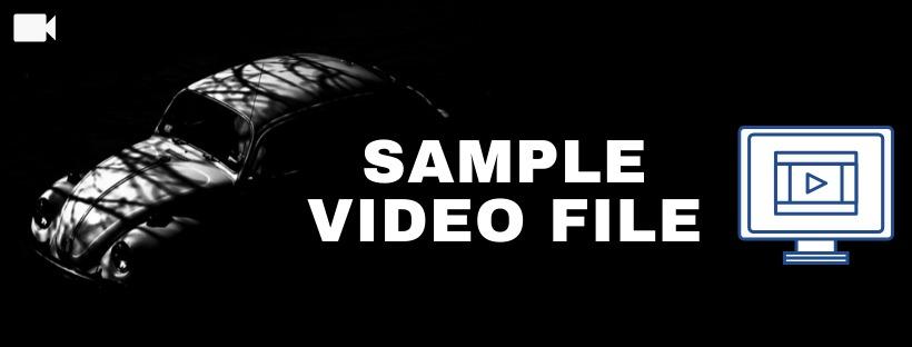 Sample Video File