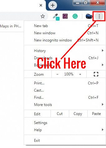 full screen chrome windows button