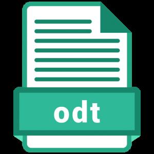 Sample ODT File