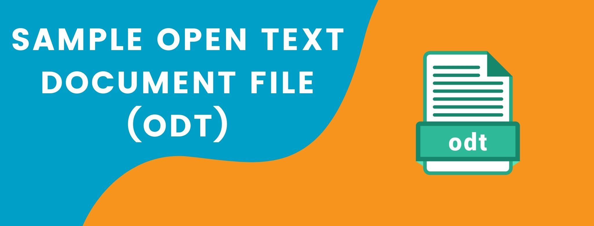 Sample Open Text Document Files