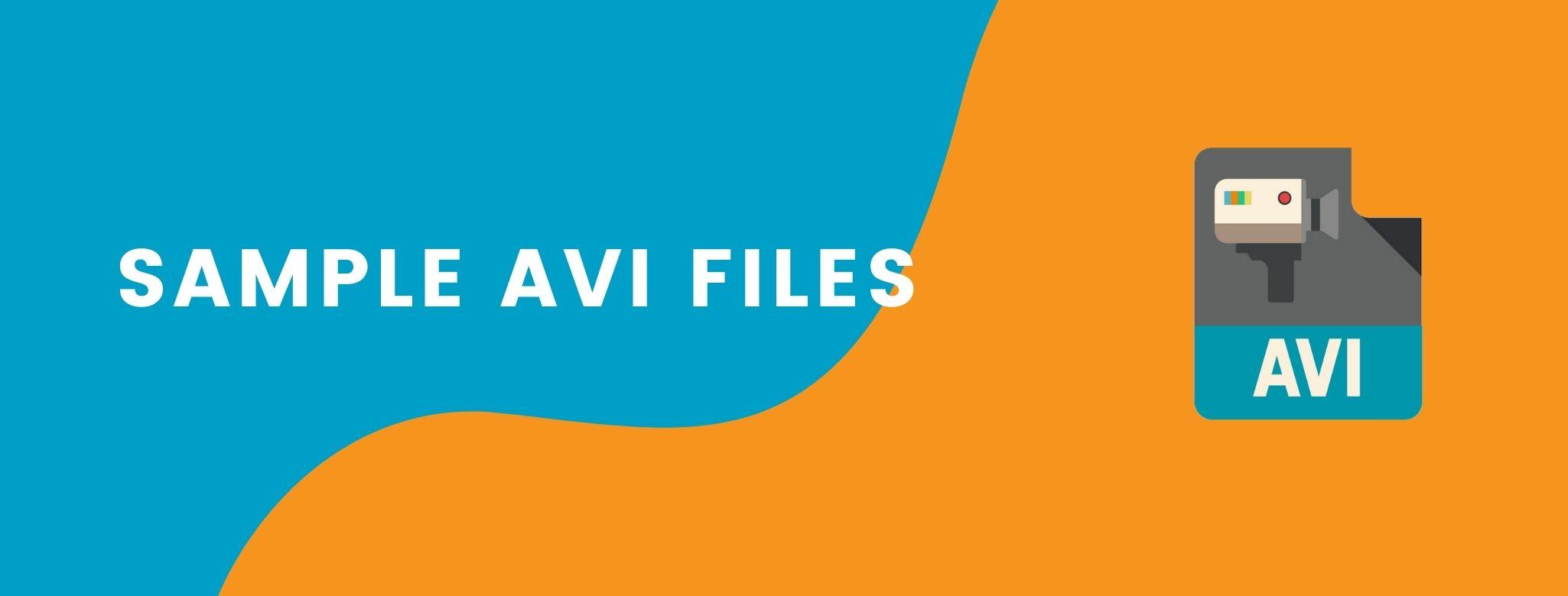 Sample AVI Files