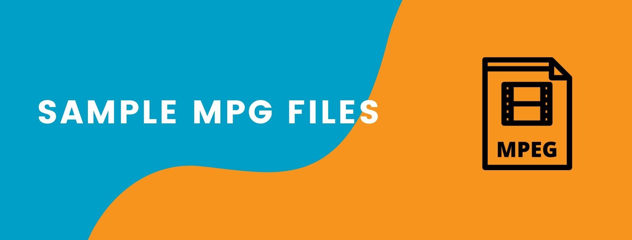 Sample MPG File